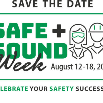 Participate in Safe + Sound Week 2019!