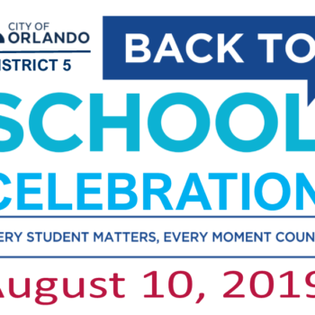 Let's Prepare District 5 Students For Back-to-School!
